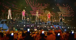 Spice Girls at the Olympics London 2012 Closing Ce