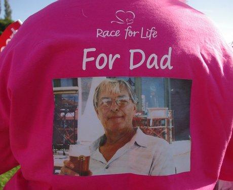 Race For Life Longbridge - Messages