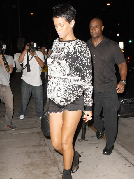 Rihanna Hotpants September 2012
