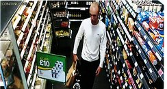 BP Garage shoplifting