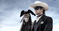 """The Lone Ranger"" Tonto Johnny Depp"