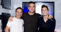 Robbie Williams with JK & Lucy