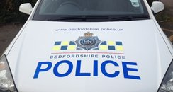 Bedfordshire Police Car