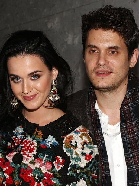 Katy Perry and John Mayer out and about