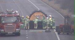 Paramedics get into gas suits