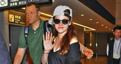 Kristen Stewart at Narita Airport, Tokyo