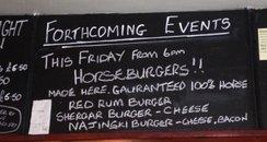 Horsemeat Burgers