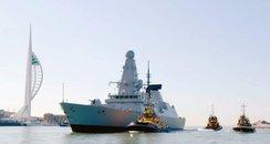 Portsmouth warship