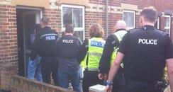 Police Raid West Suffolk