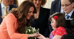Duchess of Cambridge visits Hampshire