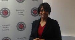 Victims Commissioner Angela Sarkis