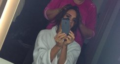 Victoria Beckham Short Hair Twitter 1 May 2013