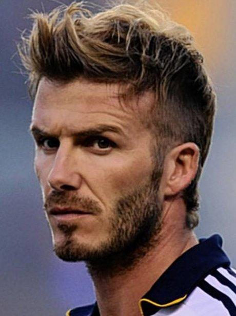 David beckham hairstyle 2018 back