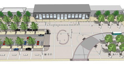 Plan for Station Square