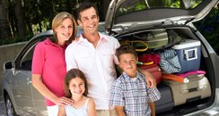Family Packed For Holiday
