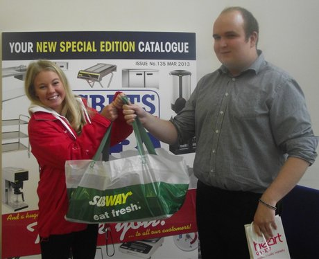 Heart & Subway Bringing You Lunch