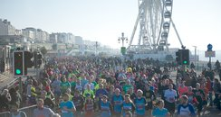 Brighton Half Marathon 2014 Route Map