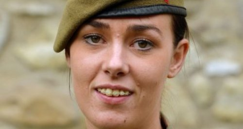 Rachel Hughes being recognised in honours list
