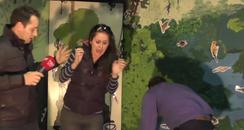 Nicola Screams At Frog