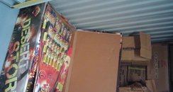 Some of the fireworks seized in Ramsgate