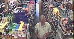 man in supermarket, cornwall