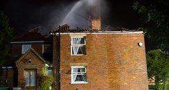 Lightning Starts House fire?
