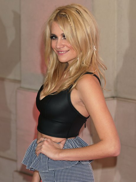 Pixie Lott on the red carpet