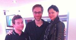Stephen Merchant, Stephen Mulhern & Emma Willi