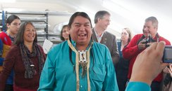 Native canadian, Blackfoot, in exeter