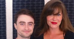 Lucy with Daniel Radcliffe