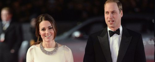 Kate Middleton and Prince William on red carpet
