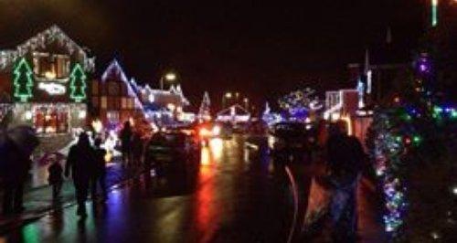 Christmas lights Hampshire