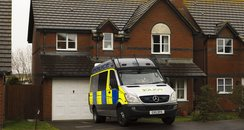 Police at house in Bracklesham Bay