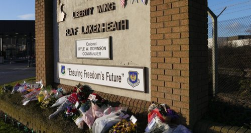 RAF Lakenheath Tribute Message