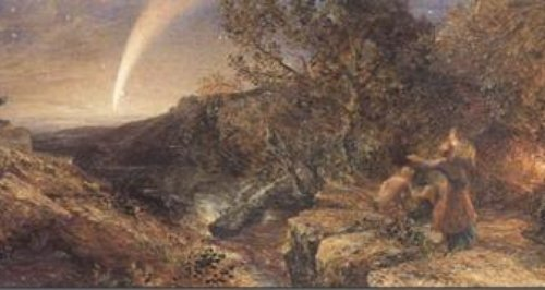 'The Comet of 1858' by Samuel Palmer