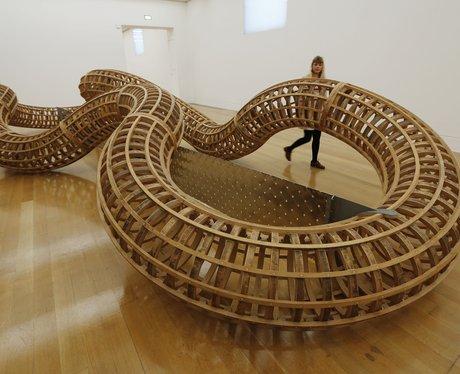 coiling sculpture