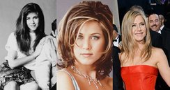 Jennifer Aniston in different dresses