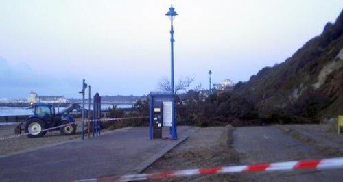 Bournemouth landslide Feb 2014
