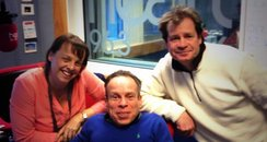 Martin, Su and Warwick Davis