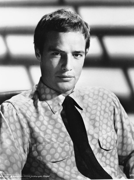 Marlon Brando in a shirt