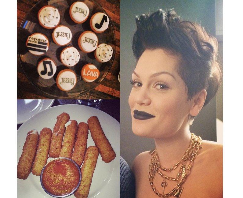 Photos from Jessie J's Instagram