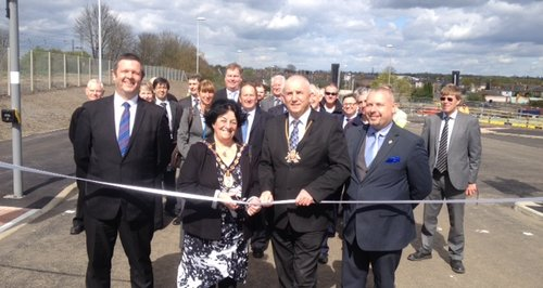Opening Of Huntingdon New Link Road