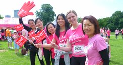 Regents Park Race For Life 2014 Part 1