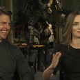 Tom Cruise And Emily Blunt Talk Exclusively To Hea