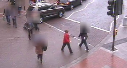CCTV of a woman who may be able to help with inqui