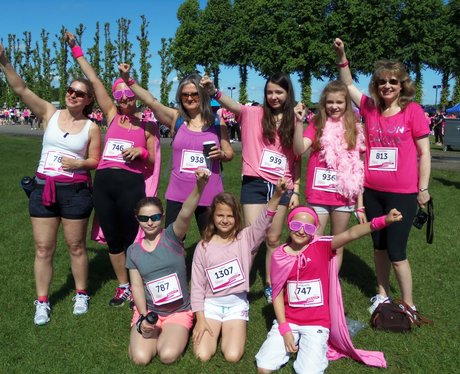 Windsor Race for Life: Before the Race - Sunday