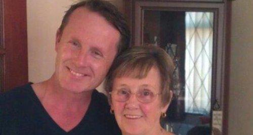Gloucester murder victim Victor McDermott and mum