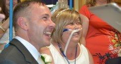 Neil and Joann Ward marry in hospital