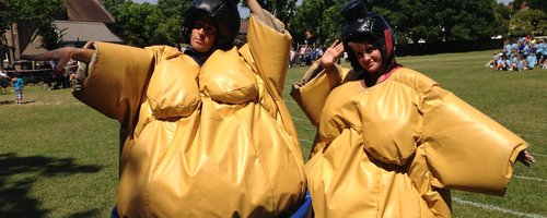 adventures in sumo suits