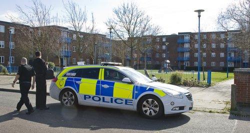 Welwyn Garden City Murder Scene